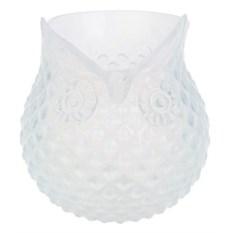 Низкая ваза для цветов Загадочная сова