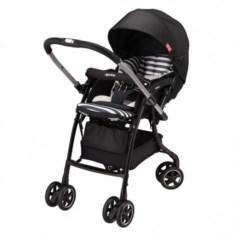 Детская коляска Aprica Luxuna Dual (цвет: черный)