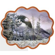 Панно из каменной крошки Орлан в горах