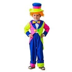 Карнавальный костюм Клоун в шляпе, 6-10 лет
