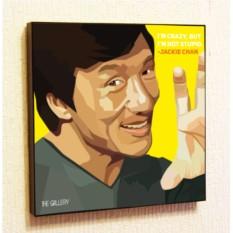 Картина в стиле поп-арт Джеки Чан