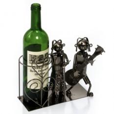 Металлическая подставка для бутылок Дуэт