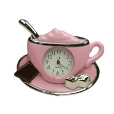 Настольные часы Капучино
