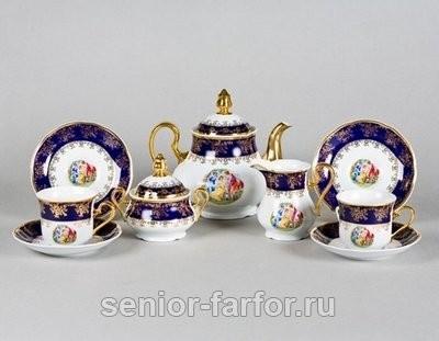Чайный сервиз Мадонна на 6 персон (15 предметов)