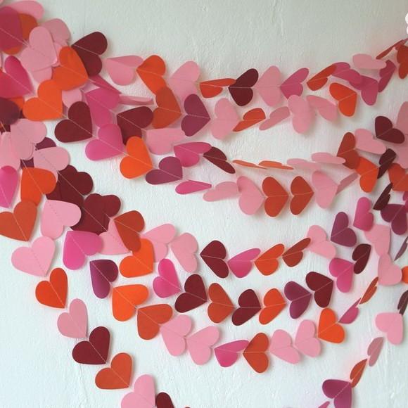 Гирлянда-сердечки (5 метров)