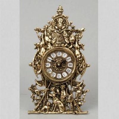 Часы-фигура из бронзы «Сцены охоты» Virtus