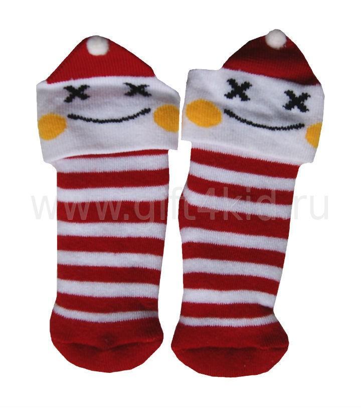 Махровые носочки для новорожденного