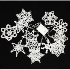 Набор снежинок «Морозные кружева»