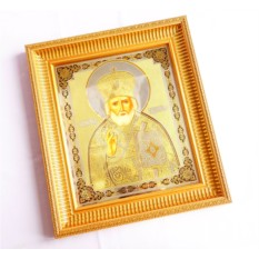 Рукописная Икона Николая Чудотворца