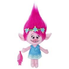 Мягкая игрушка Hasbro Trolls Говорящая Поппи