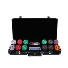 Набор для покера Dropa Discs 300 фишек с номиналом Lite