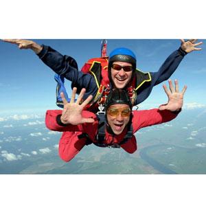 VIP  прыжок с парашютом