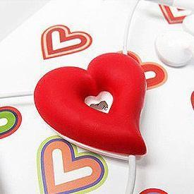 Держатель для наушников Сердце