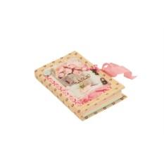 Мини-блокнот «Розовая вуаль»