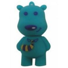 Флешка Медвежонок (цвет — голубой)
