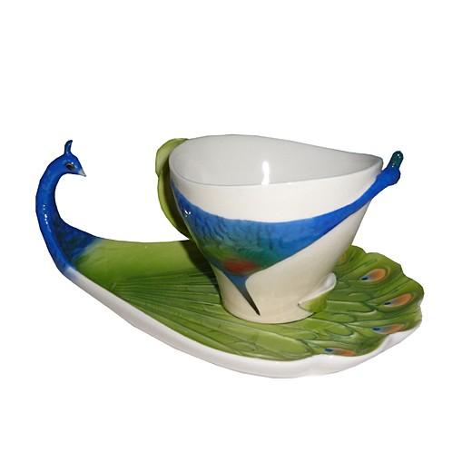 Чайная пара Павлины