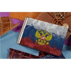 Зажим для денег Герб РФ