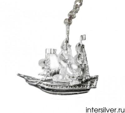 Серебряный ионизатор воды Кораблик