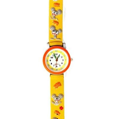 Часы «Жёлтые мыши» Tik-Tak