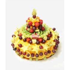 Композиция из фруктов Праздничный торт