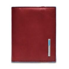 Красный футляр для кредитных карт Piquadro Blue Square
