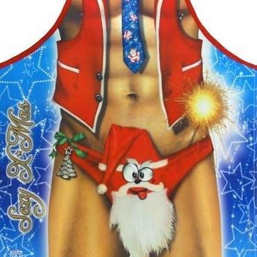 Фартук прикольный Sexy Merry Christmas