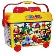 Конструктор в контейнере Животный мир Haenim toys