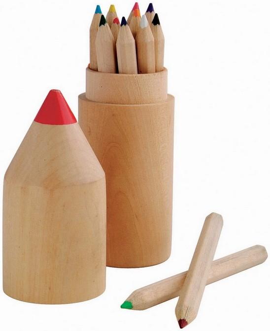 Набор цветных карандашей в футляре