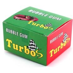 Блок жвачки Turbo с наклейками