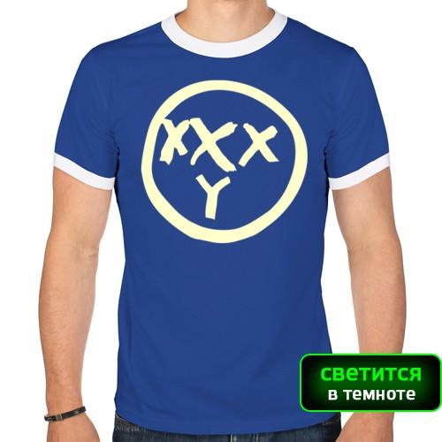 Мужская футболка рингер Футболка Oxxxymiron