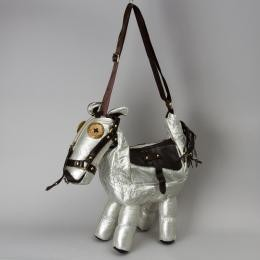Сумка серебряная «Лошадь»