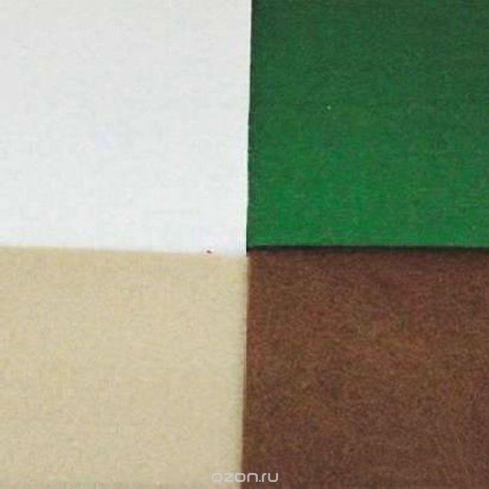Фетр листовой Астра Ассорти, 20 см х 30 см, 4 шт.