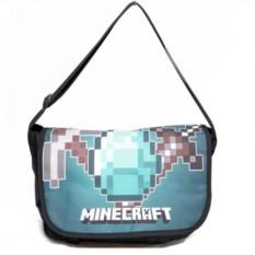Наплечная сумка с алмазом Minecraft