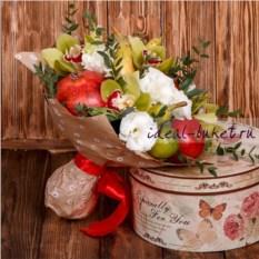 Букет и фруктов и цветов Энигма