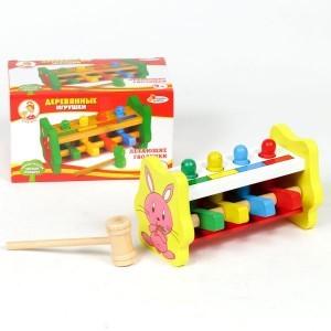 Детская игрушка Забивалка с летающими гвоздиками