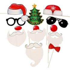 Аксессуары для фотосессии Веселые Деды морозы