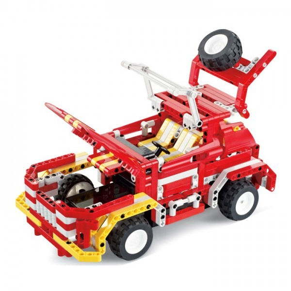 Радиоуправляемый конструктор-автомобиль Пожарная машина