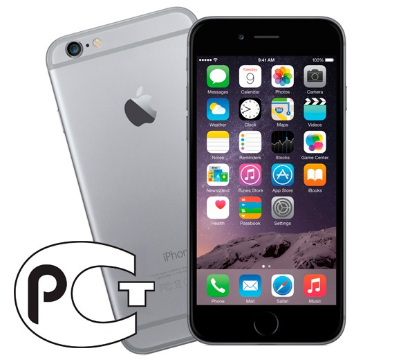 Apple iPhone 6 64Gb (Black&Space Gray)