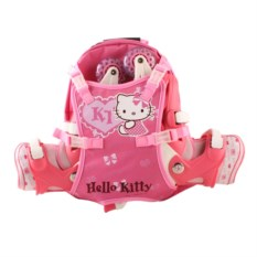 Роликовые раздвижные коньки Hello Kitty