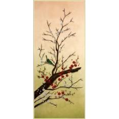 Картина Swarovski Сакура цветет 2, 1744 кристаллов, 40х50