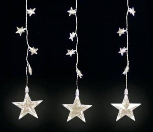 Светодиодная гирлянда Дождь-Звезды