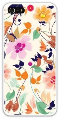 Чехол-накладка для iphone 5/5S, вихрь цветов
