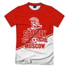 Мужская футболка 3D с полной запечаткой Спартак