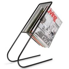 Черный держатель журналов Float
