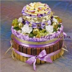 Торт-шкатулка Золотой орех