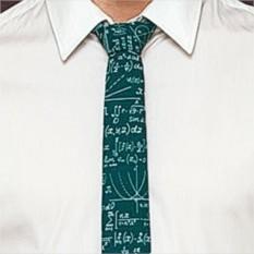 Креативный галстук Формула