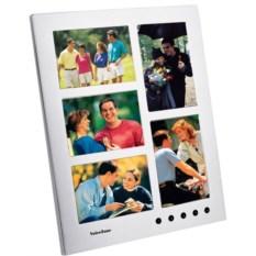 Рамка для 5 фотографий с записью комментариев на 10 секунд
