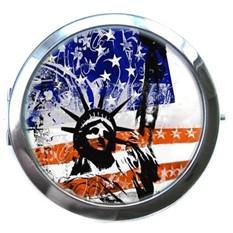 Интернет-магазины, где купить Карманное зеркало USA.  Карманное зеркальце - Необычный и очень приятный подарок...