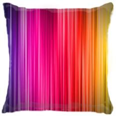 Подушка Цветные полоски