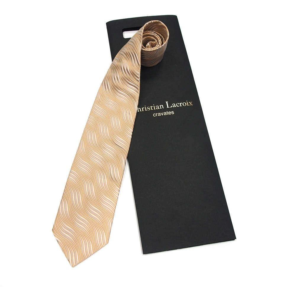Мужской шелковый галстук Christian Lacroix
